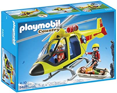 Playmobil 5428 Mountain Rescue Helicopter