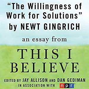 The Willingness to Work for Solutions Audiobook