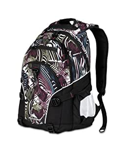 High Sierra 2015-Cubic Inches Loop Daypack (Zebra, Black)
