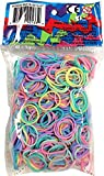 Official Rainbow Loom 600 Ct. Rubber Band Refill Pack PASTEL [Includes 25 C-Clips!]