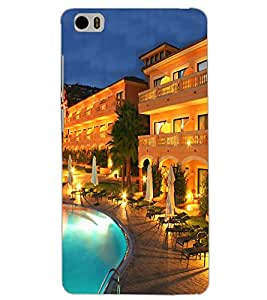 XIAOMI MI5 POOL VIEW Back Cover by PRINTSWAG