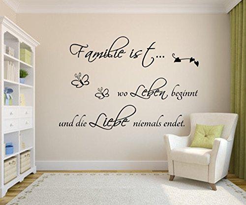 wandtattoo wandsticker gib jedem tag die chance mark twain weisheiten spruch 30x120cm braun. Black Bedroom Furniture Sets. Home Design Ideas