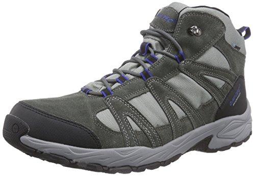 Hi-Tec Alto II Mid WP, Scarpe da trekking medio uomo, Grigio (Grau (Charcoal/Cobalt 051)), 47