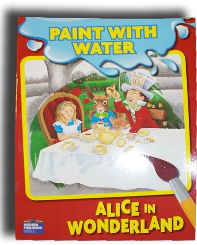 Alice In Wonderland Water: Alice In Wonderland Paint With Water Book (030099150522) $4.85
