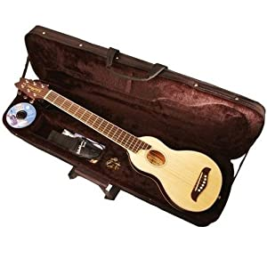 washburn rover travel guitar case musical instruments. Black Bedroom Furniture Sets. Home Design Ideas