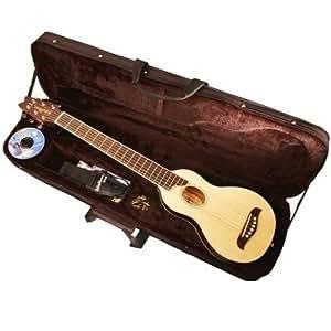 washburn rover travel guitar case musical instruments. Black Bedroom Furniture Sets. Home Design Ideas