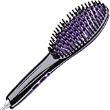 Gideon™ Heated Hair Brush Straightener - Amazing and Innovative Hair Straightener / Achieve Salon Quality Straight Hair in Minutes
