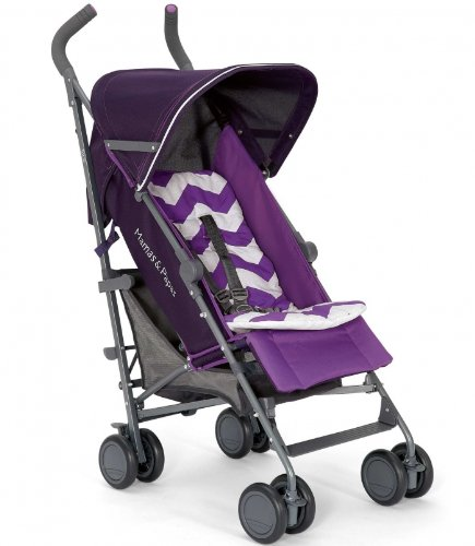 Mamas And Papas Tour Purple Buggy Single Stroller front-119361