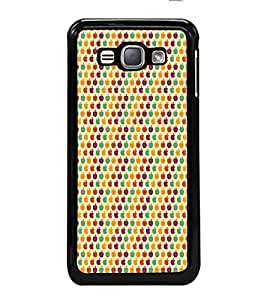 iFasho Animated Pattern design many small apple Back Case Cover for Samsung Galaxy J1 (2016 Edition)