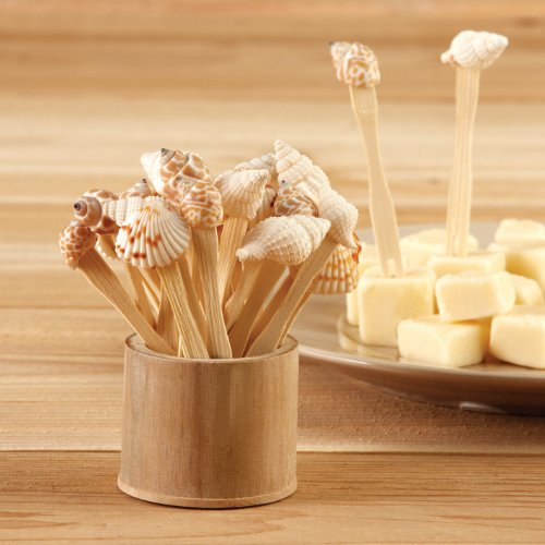Two's Company Sea Fare Shell Toothpicks Hors D'Oeuvre
