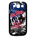 NCAA Mississippi Old Miss Rebels Paulson Designs Spirit Case for Samsung Galaxy S3, Black, Medium