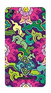 UPPER CASE™ Fashion Mobile Skin Vinyl Decal For Micromax Canvas Spark 2 Q334 [Electron...