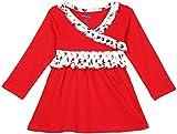 Snuggles Yoke Dress - Red (18-24 Months)