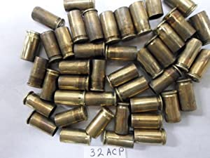 32 AUTO CAL RELOADING BRASS. 230 CASINGS LOT # FL 22713