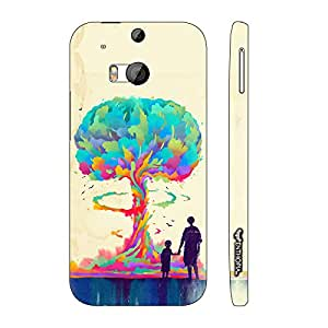 Htc One M8 Whats goes around is Evolution designer mobile hard shell case by Enthopia