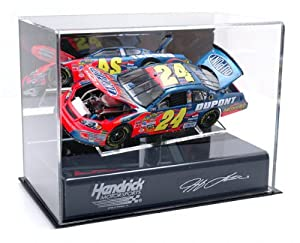 Jeff Gordon 1 24th Die Cast Display Case with Platform by Mounted Memories