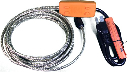 Heat Tape Easy Heat Freeze Protection Cable Waterline Heater Pre-cut to 70 Foot includes Installed Plug Head (Freeze Protection Plug compare prices)
