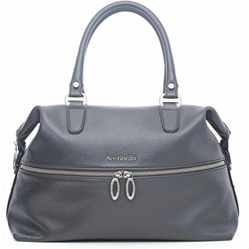 Nero Giardini borsa donna A643317D 100 nero nuova collezione autunno inverno 2016 2017