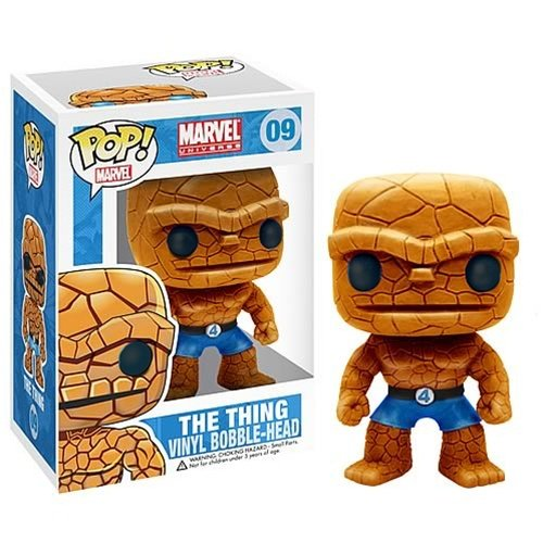 Buy Low Price Funko Fantastic Four Thing POP Vinyl Bobble Head Figure (B0052Z9OLY)