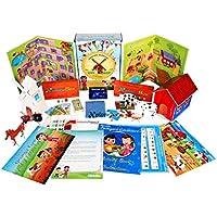 XploraBox learning Toys- Farmyard Adventure Activity kit, Ages 4-8
