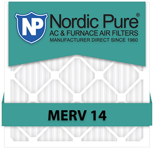 Nordic Pure 10x30x1 MERV 10 Pleated AC Furnace Air Filters 4 Pack