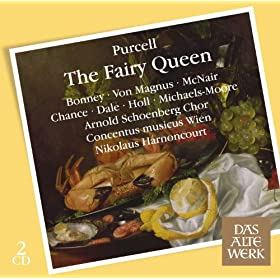 "The Fairy Queen : Act 5 ""Sure the dull God of Marriage"" [First Woman, Second Woman, Chorus] Prelude ""See, I obey"" [Hymen] ""Turn then thine eyes"" [First Woman, Second Woman] ""My torch indeed"" [Hymen]"