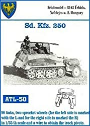 Friulmodel Atl50 1/35 Metal Track W/Drive Sprockets For Sdkfz.250 Halftrack