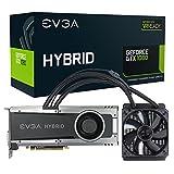 EVGA NVIDIA GeForce GTX 1080 Hybrid GAMING 8GB GDDR5X DVI/HDMI/3DisplayPort PCI-Express Video Card w/ Hybrid All-in-One Watercooler