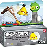 K'NEX Angry Birds Yellow Bird Versus Medium Minion Pig