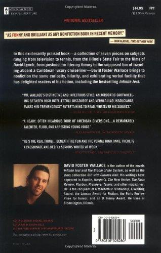 a supposedly fun thing essay online Baixe ou leia on-line a supposedly fun thing i'll never do again: an essay (digital original) livro livre de ebooks david foster wallace pdf, epub, mobi, one of david foster wallace's most famous essays, now available.