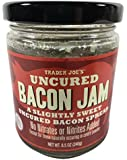 Trader Joes Uncured Bacon Jam, 8.5 Ounce Jar