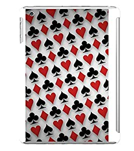 Playing Card Designer Back Case Cover for Apple iPad Mini