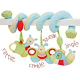 Little Bird Told Me Caterpillar Soft Activity Spiral Childrens Toy