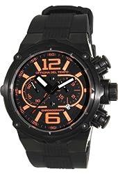 Officina Del Tempo - Power - 49mm Chronograph - OS21 Black PVD - Orange