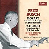 Music of Busch Mozart Schubert & Rybar