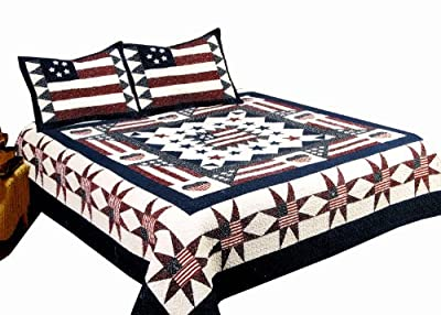 American Hometex, Great America King Quilt Set