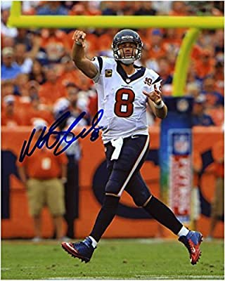 "Matt Schaub Houston Texans Autographed 8"" x 10"" Looking Downfield Photograph - Fanatics Authentic Certified"
