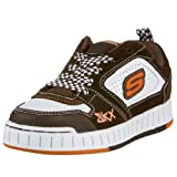Skechers Boys Boys' NolliesRustix Chocolate / White 11 Child UK Regular