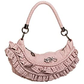 Betsey Johnson Betsey Frill Small Hobo