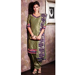 Shringaar Ras Women Dress Material SR 101680 Perrot Green