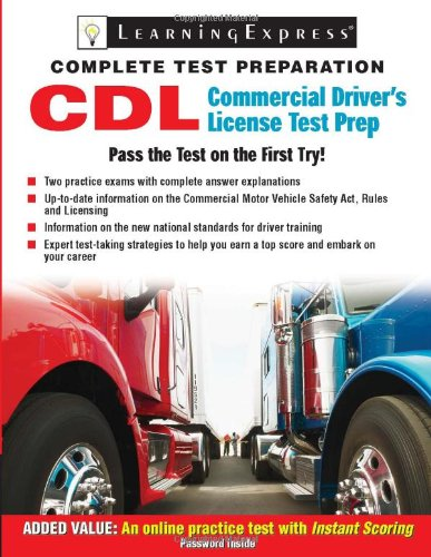 CDL: Commercial Driver's License Test Prep