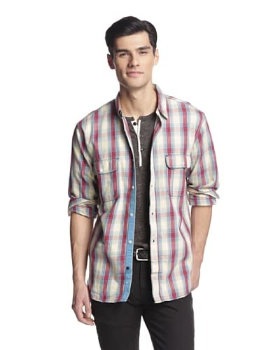 French Connection Men's Ferret Flannel