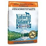 Natural Balance Dry Dog Food, Grain Free Limited Ingredient Diet Fish and Sweet Potato Recipe, 28 Pound Bag ~ Natural Balance