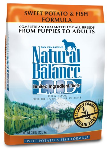 Natural Balance Sweet Potato and Fish Formula Dog Food