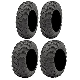 set of 4 atv tires - Full set of ITP Mud Lite (6ply) 25x8-12 and 25x10-12 ATV Tires
