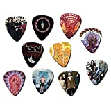 Tool Band (Tribute Edition) Set of 10 Electric Acoustic Guitar Plectrums