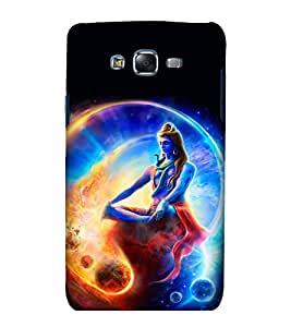 printtech Lord God Shiva Planet Space Back Case Cover for Samsung Galaxy A8::Samsung Galaxy A8 A800F