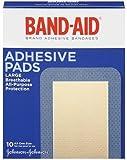 Band-Aid Brand Adhesive Bandages, Large Adhesive Pads,...