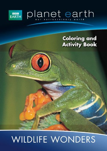 Planet Earth Giant Coloring & Activity Book ~ Wildlife Wonders (Our Extraordinary World)