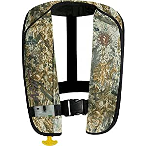 Mustang Survival MIT Automatic Inflatable Personal Flotation Device, Mossy Oak Duck Blind Camo